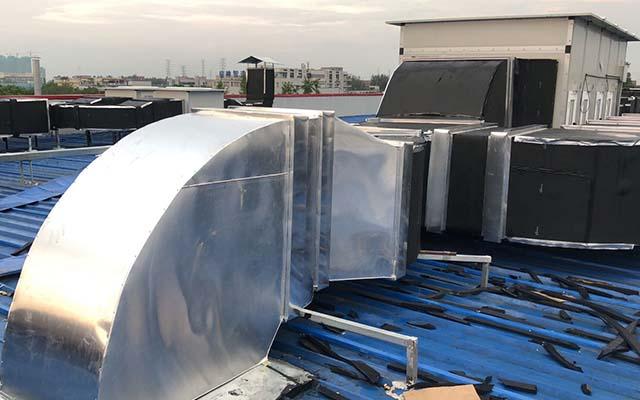 通风管道铝皮保温工程样板