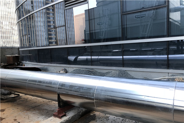 管道铝皮保温施工