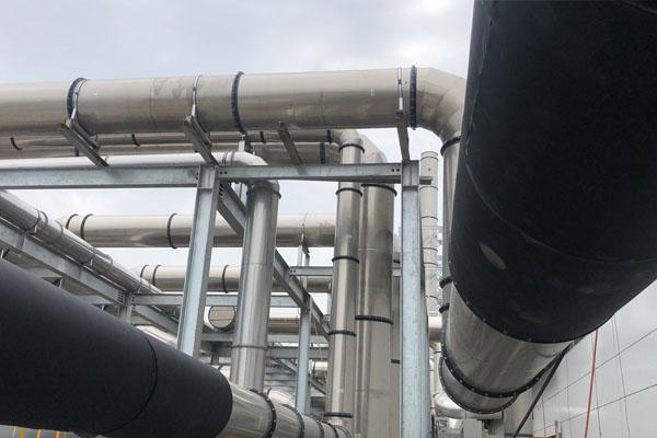 工厂室外风管管道保温