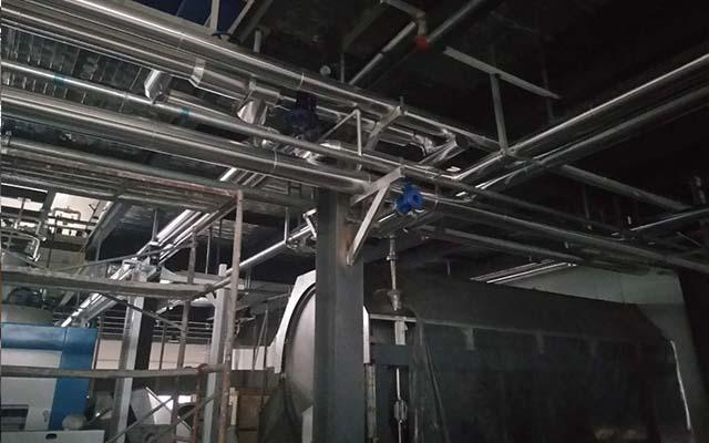 蒸汽管道保温施工