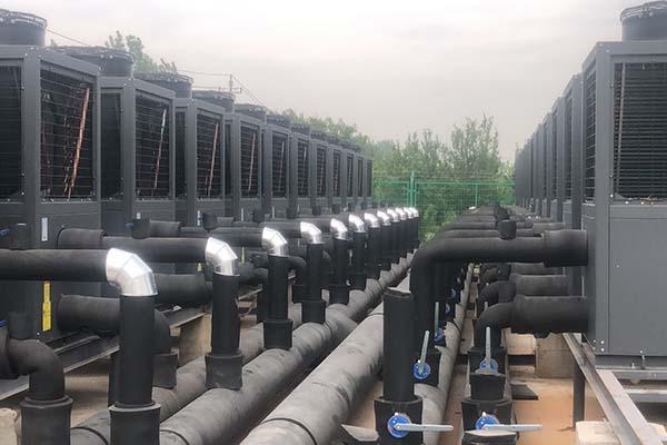 空气源热泵保温_设备保温