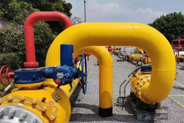 天然煤气管道保温